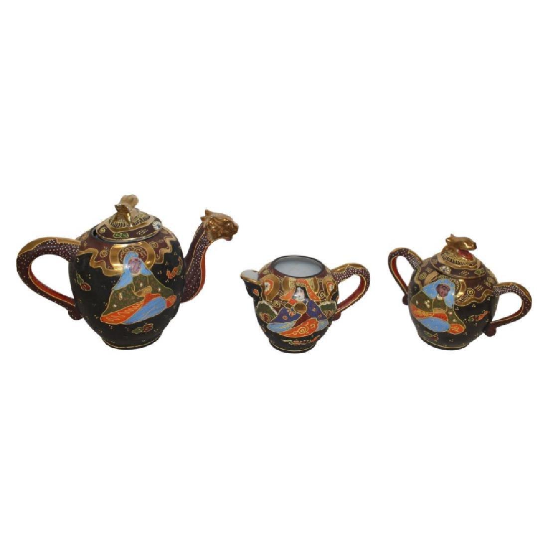 Asian Tea Set - 21 PCS - 4