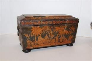 Asian Antique Tea Caddy