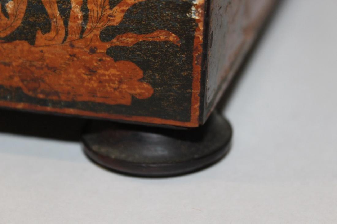 Asian Antique Tea Caddy - 4