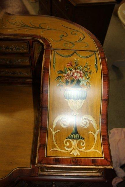 Maitland Smith Paint Decorated Carleton House Desk - 4