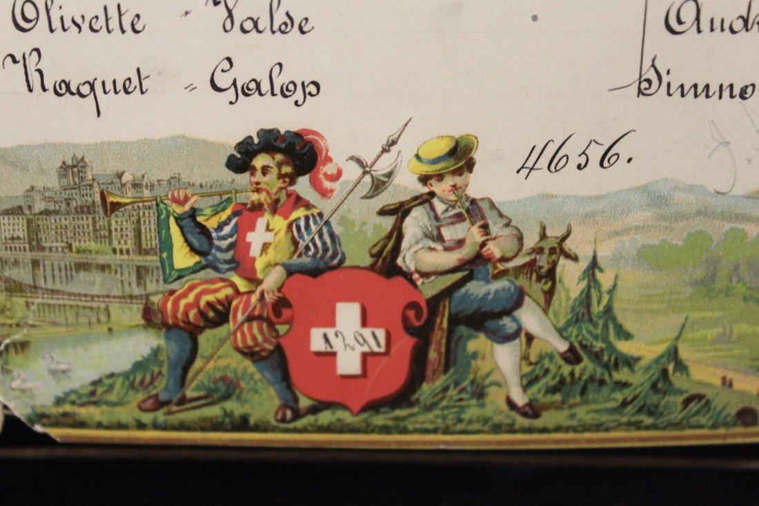 Swiss Music Box - Henry Gautschi & Sons Philadelphia PA - 9