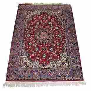 Silk based Farahan Isphahan Carpet