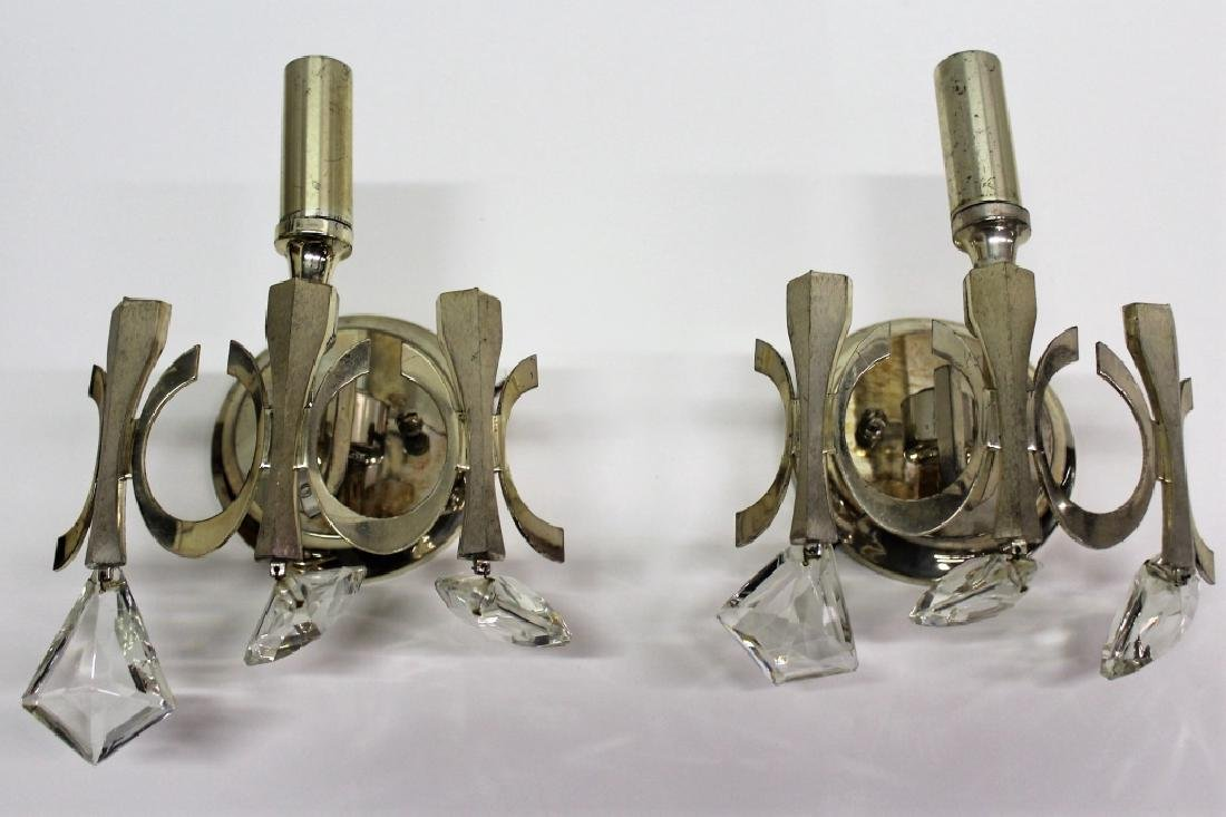 Pair of Gaetano Sciolari Sconces