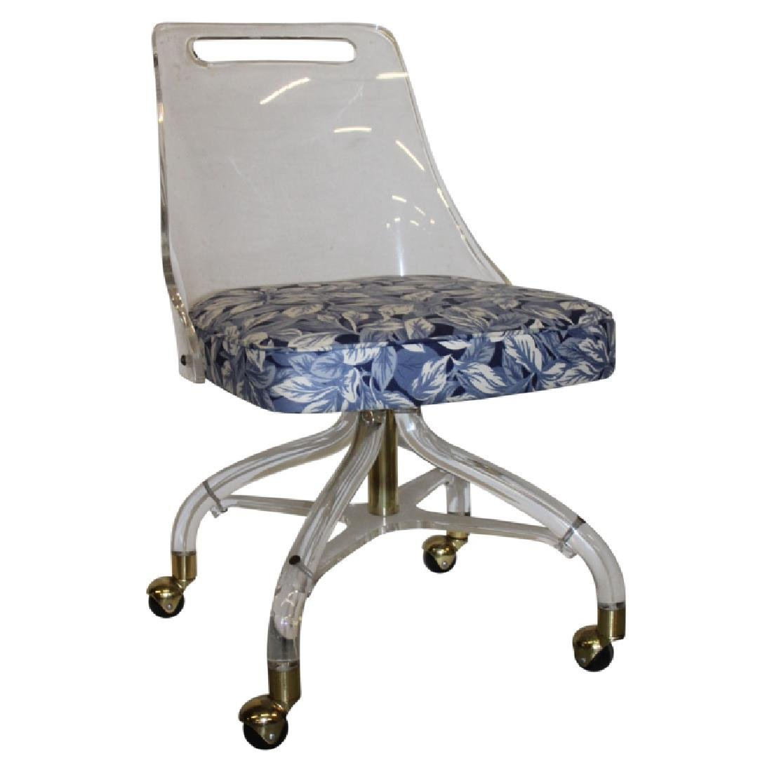 Set of 4 Hill Manufacturing Co. Lucite Chairs - 2