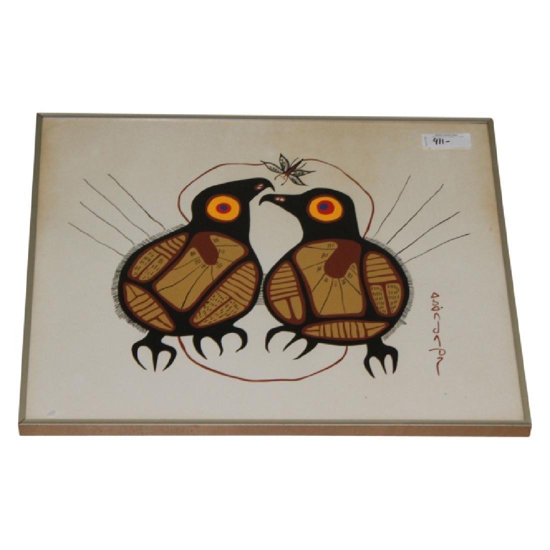 Mid Century Modern Bird Artwork