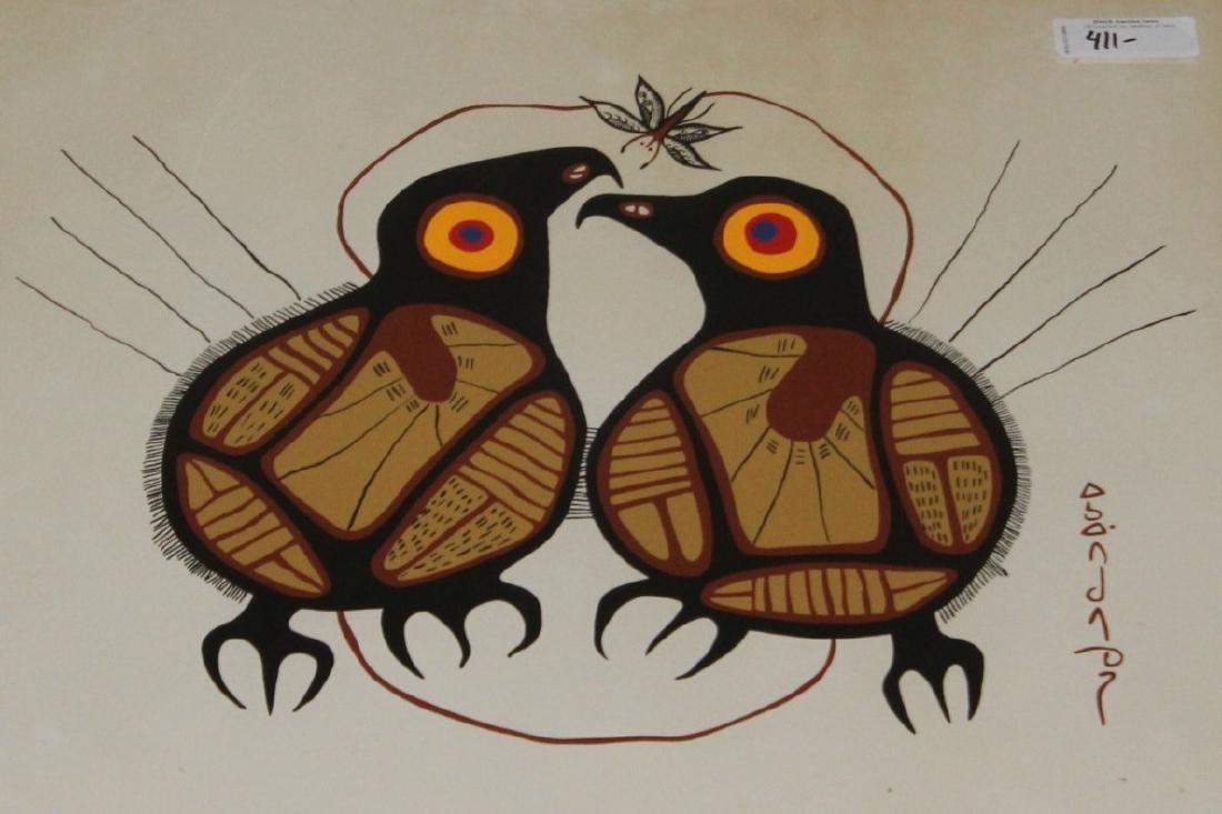 Mid Century Modern Bird Artwork - 2
