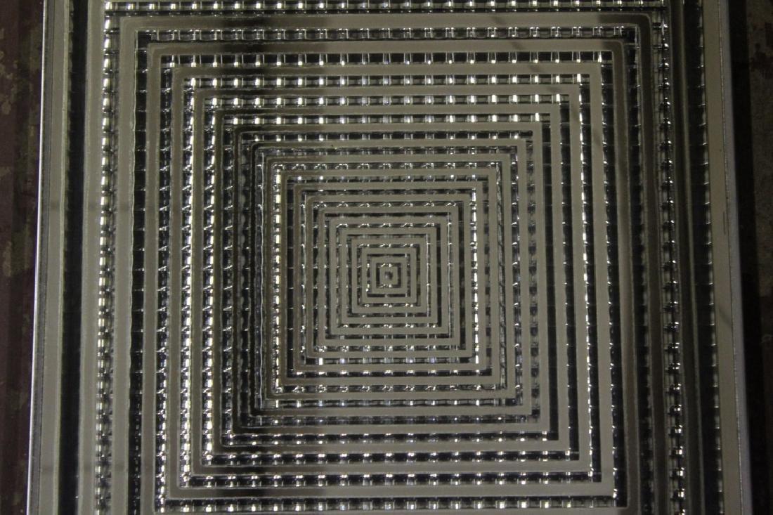 Mid Century Modern Square Mirror - 3
