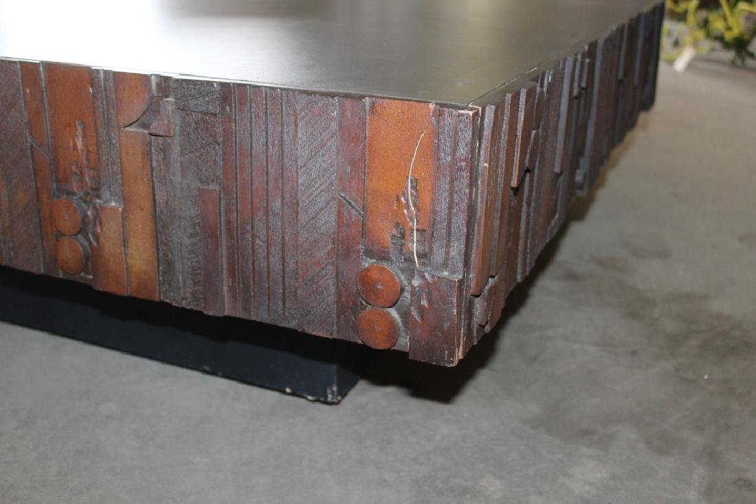 Brutalist Style Coffee Table - 3