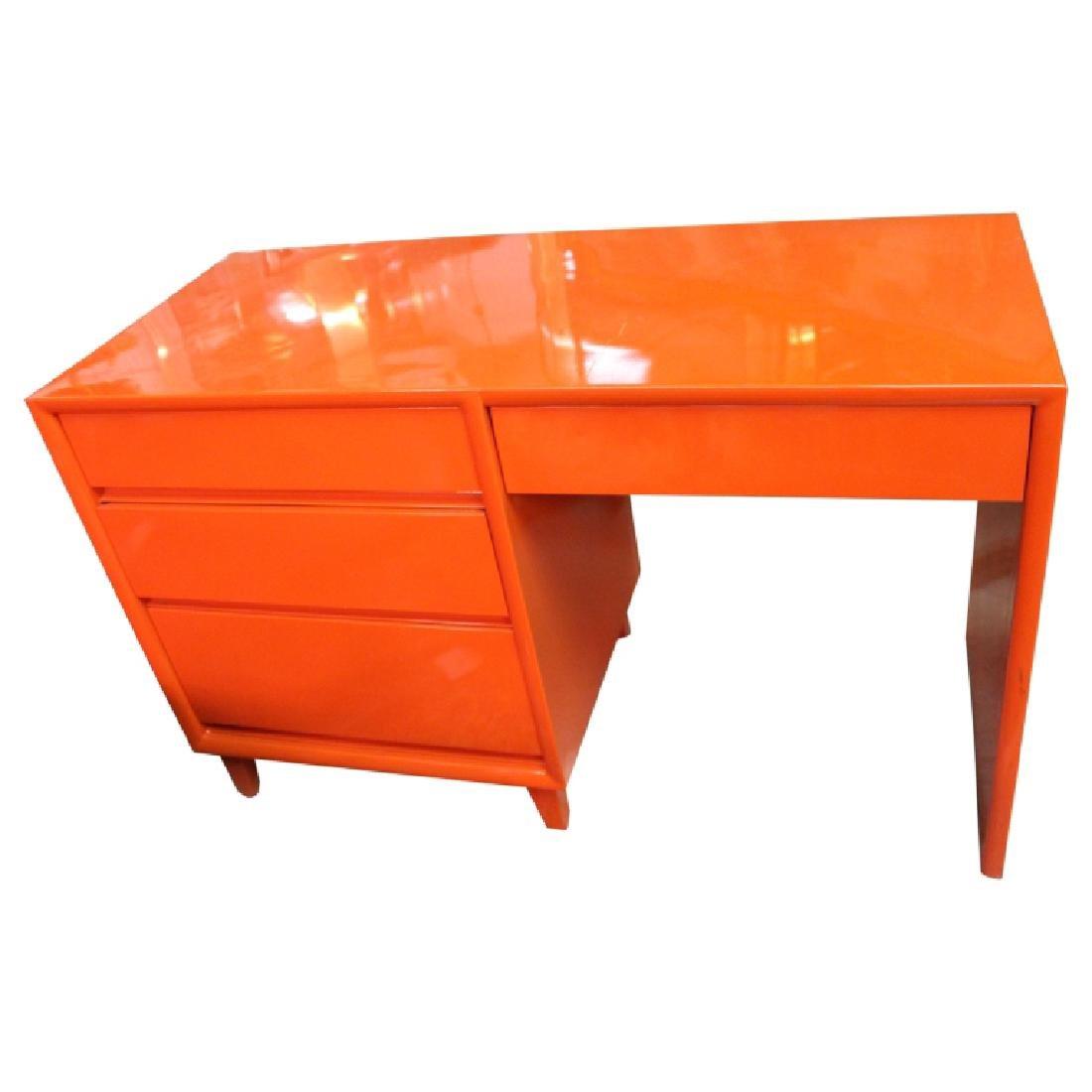 Mid Century Modern Steel Desk