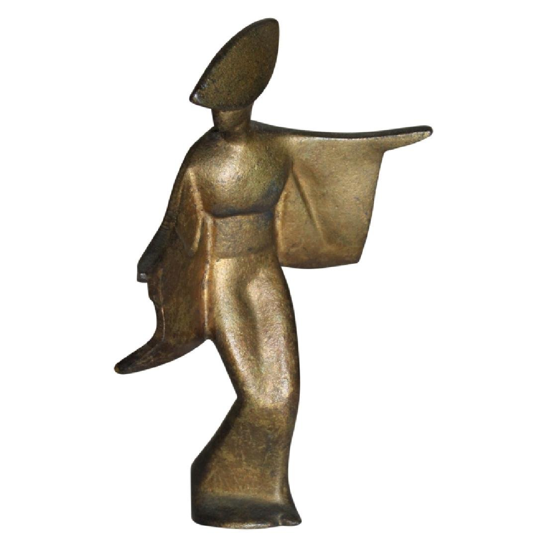 Bronze Modern Figure of a Woman