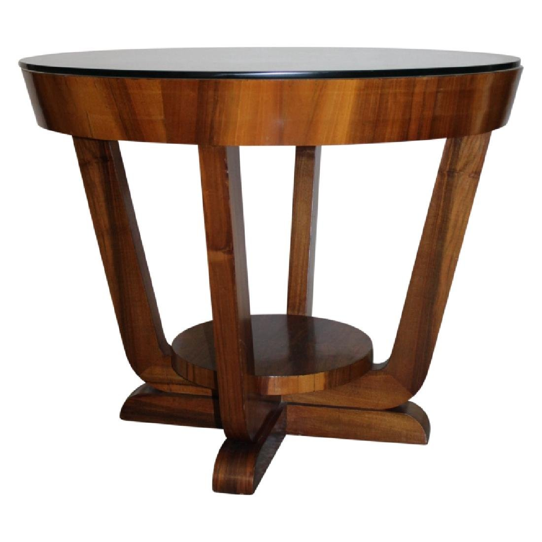 Fine French Art Deco Center Table