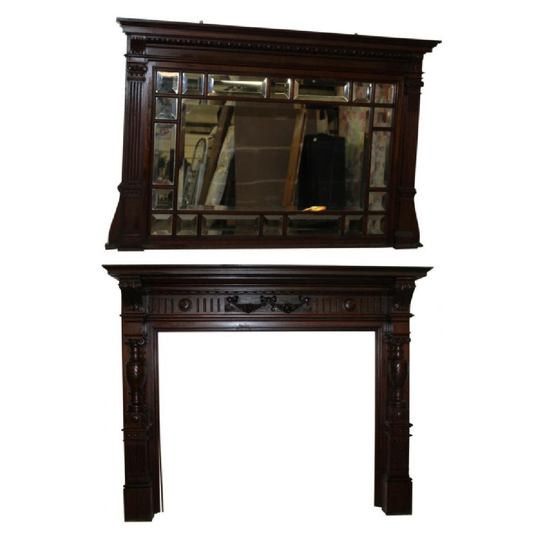 2 PC Victorian Mantel