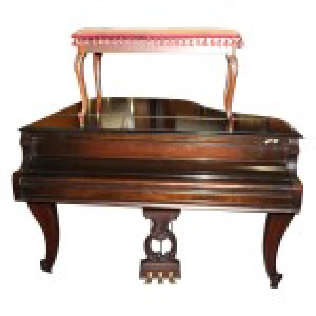 Fischer Baby Grand Piano - 5