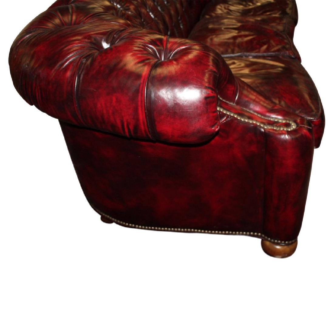 Leather Chesterfield Sofa - 2