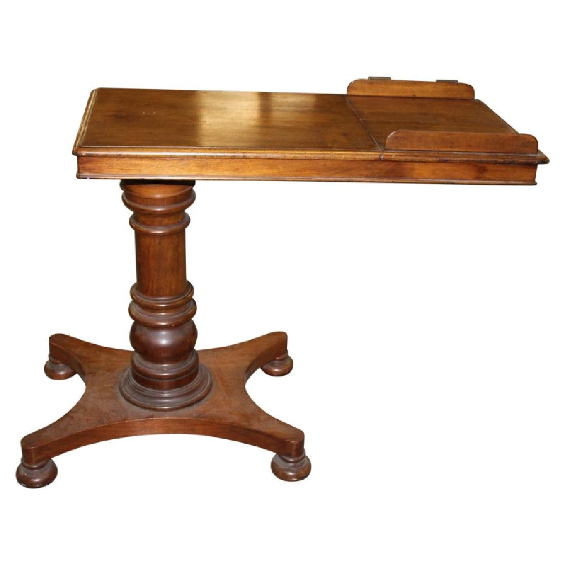 Early English Bedside Table