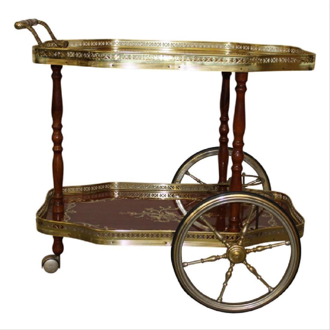 Italian Bar Cart - 2