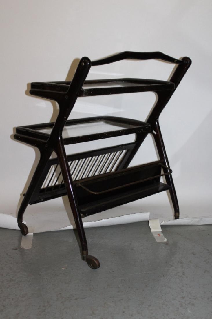 Antique 3-Tiered Serving Cart by Dunbar - 2