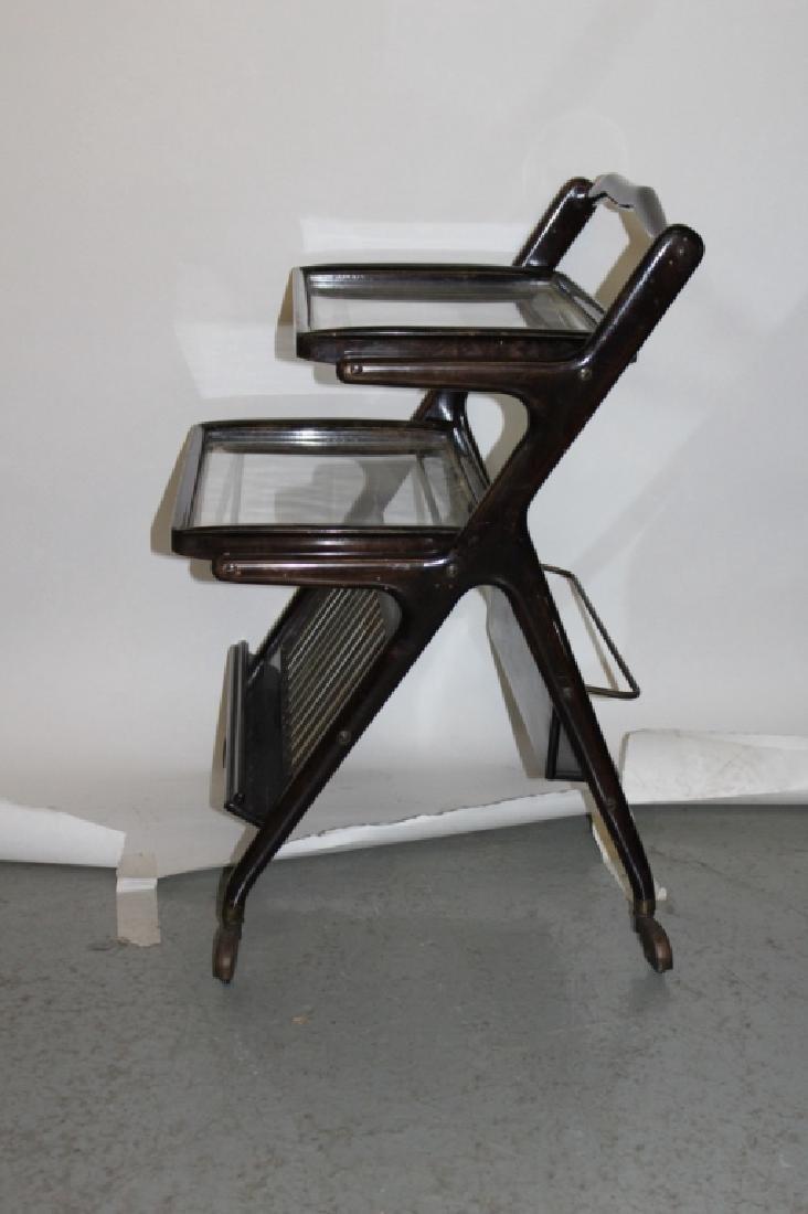 Antique 3-Tiered Serving Cart by Dunbar - 4