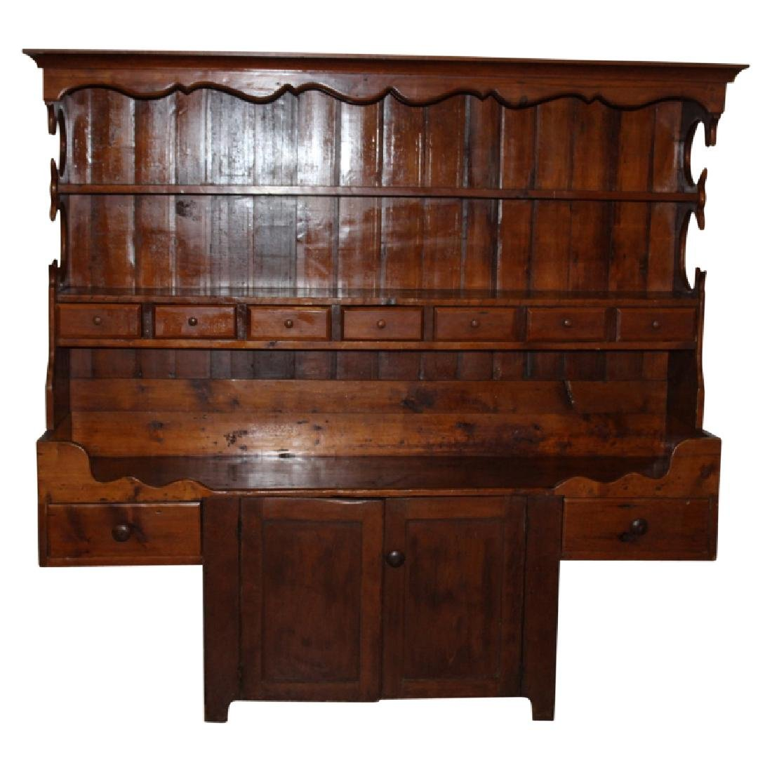 Primitive Stepback Hutch