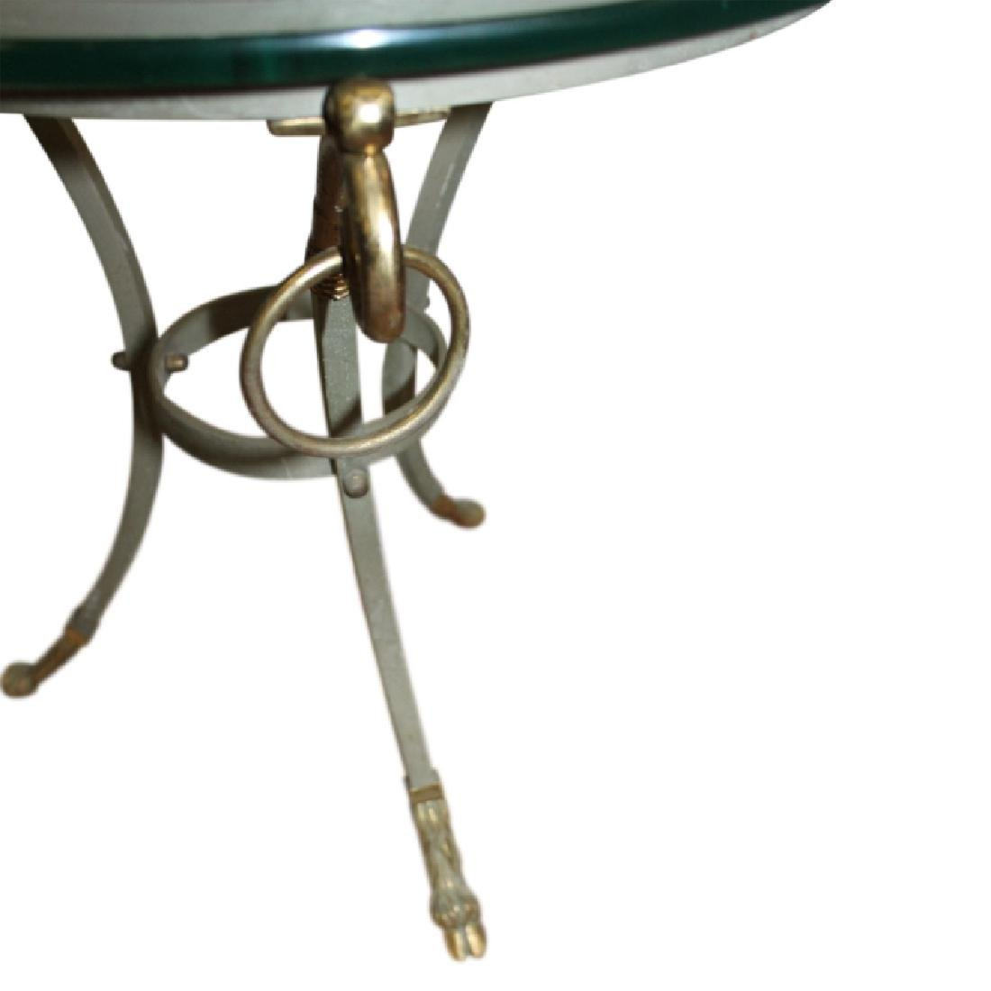 Pair Gueridon End Tables - 2