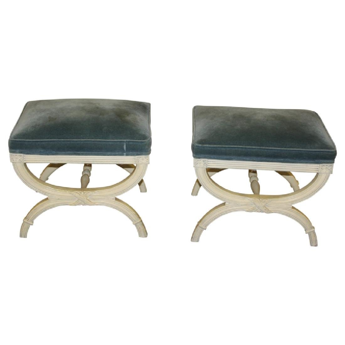 Pair of French Benches