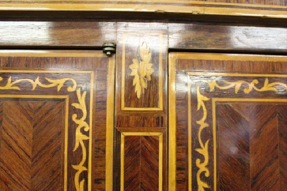 Inlaid Armoire w/ Keys - 6