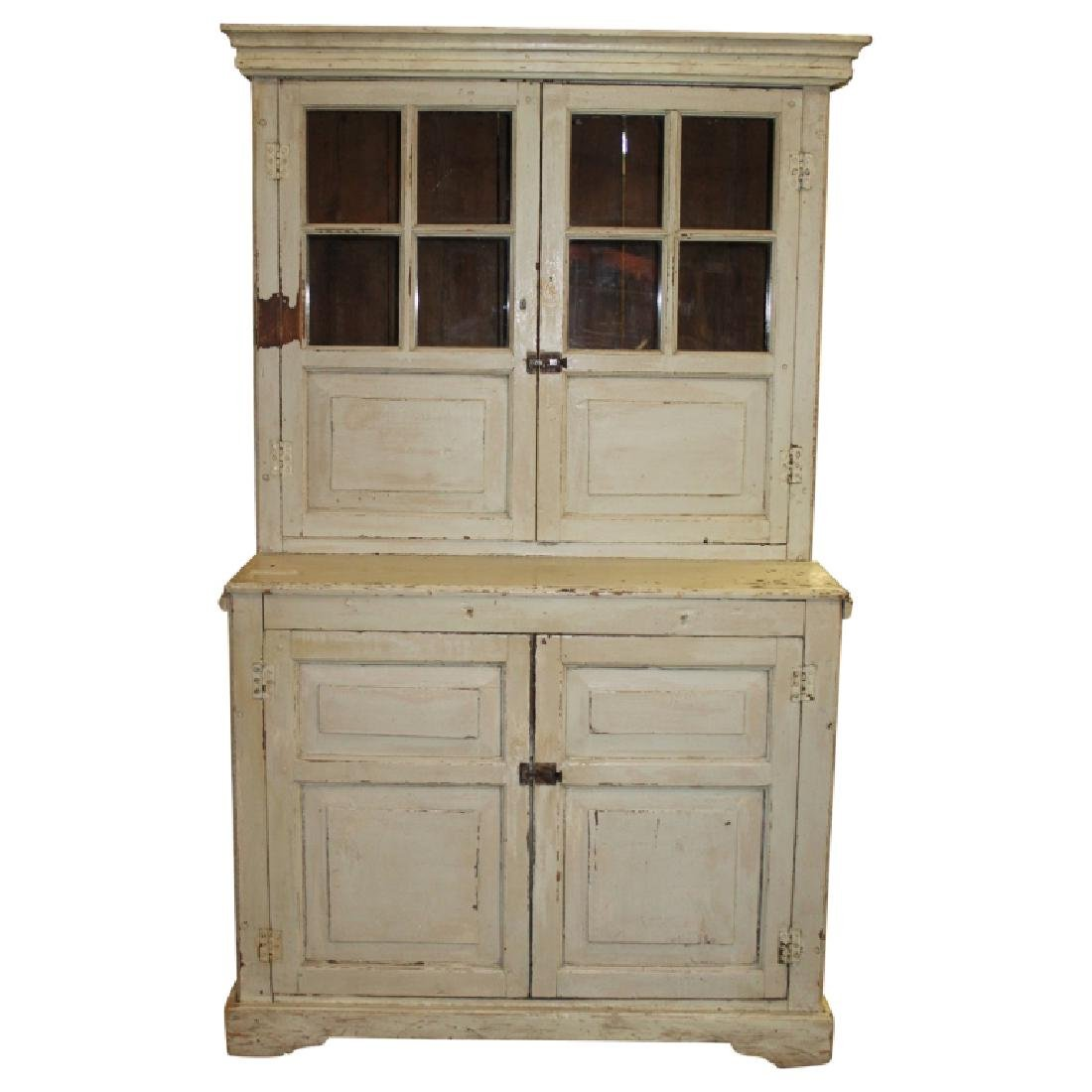 1830s Stepback Cupboard