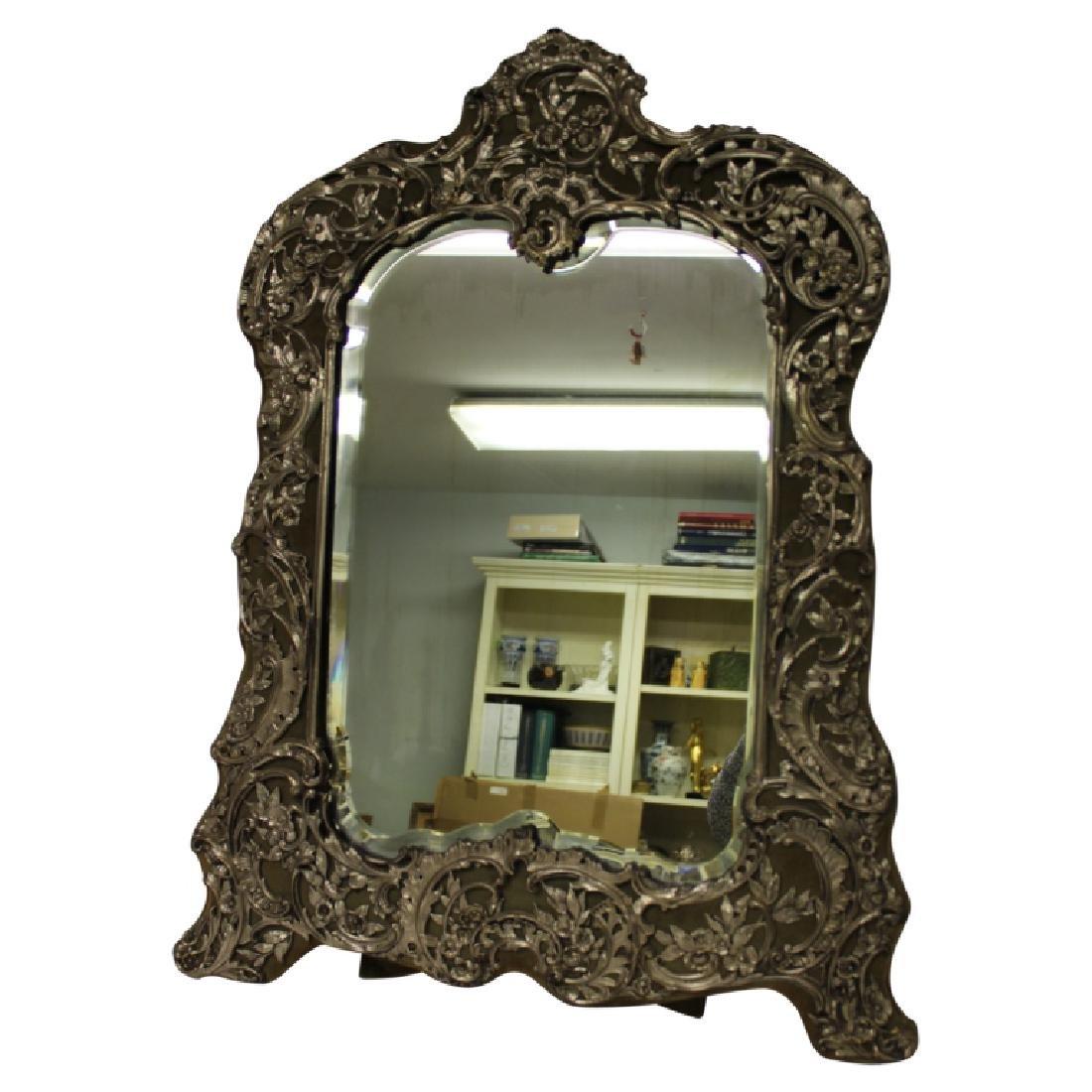 Hallmarked Sterling Silver Mirror