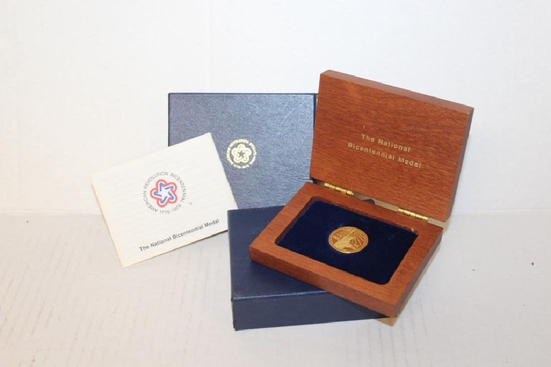 National Bicentennist Medal 24K