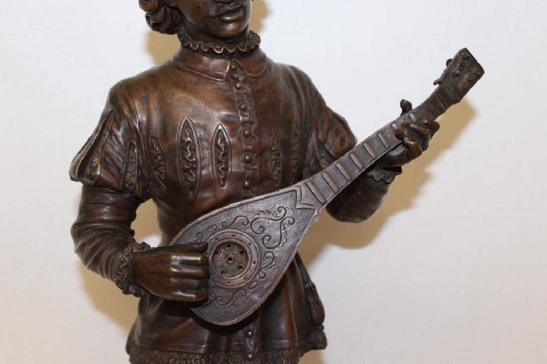 Large Louis XV Bronze Jester - 4