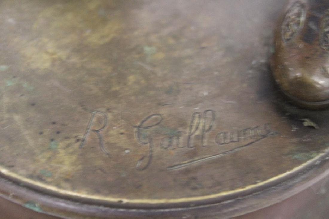 Large Louis XV Bronze Jester - 6