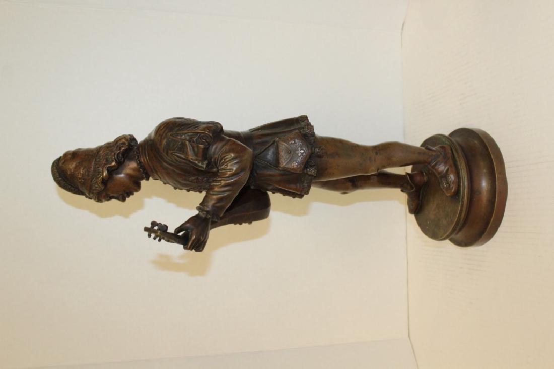 Large Louis XV Bronze Jester - 8