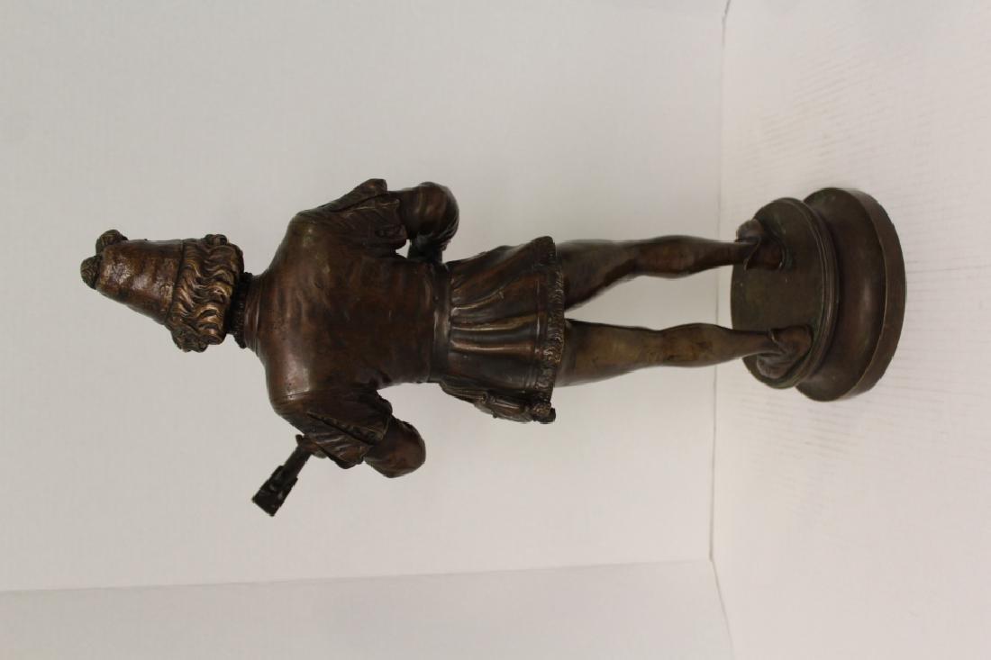 Large Louis XV Bronze Jester - 9