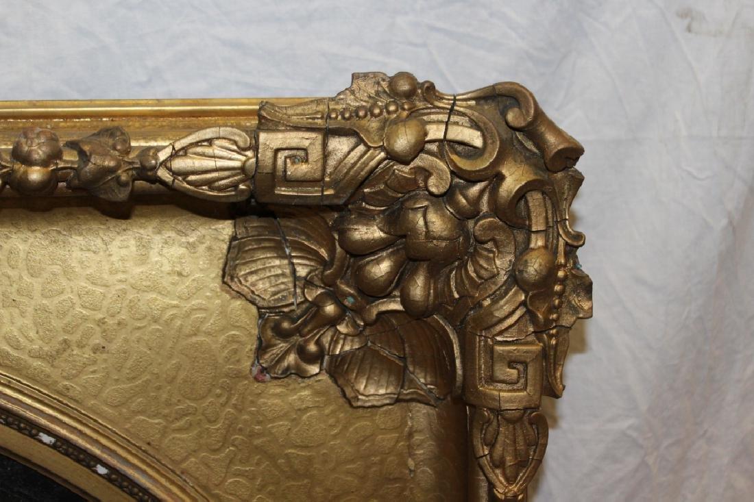 Gold Gilt Period Frame with Tin Artwork - 3