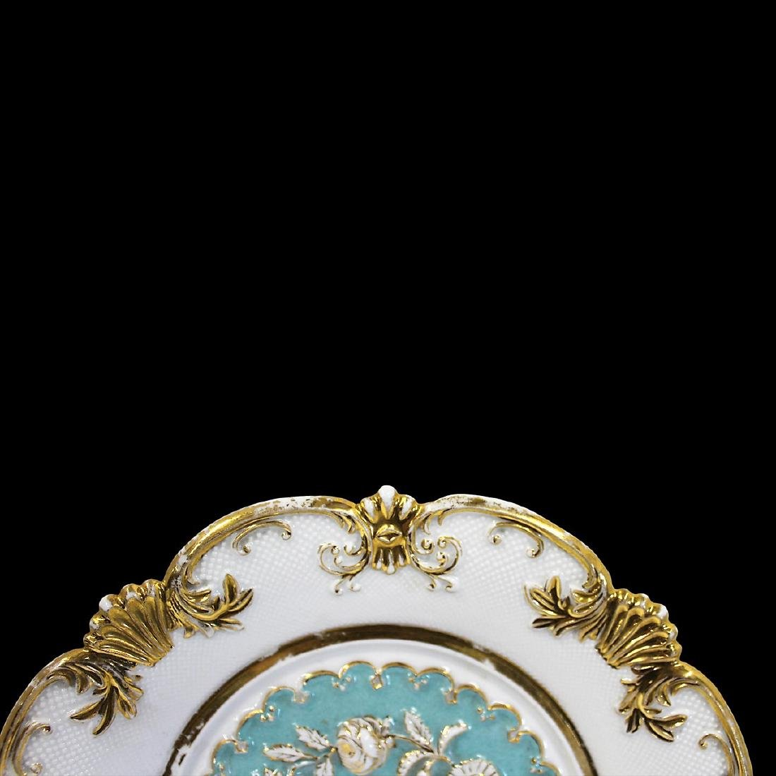 Pair of Meissen Baroque Style Plates - 3