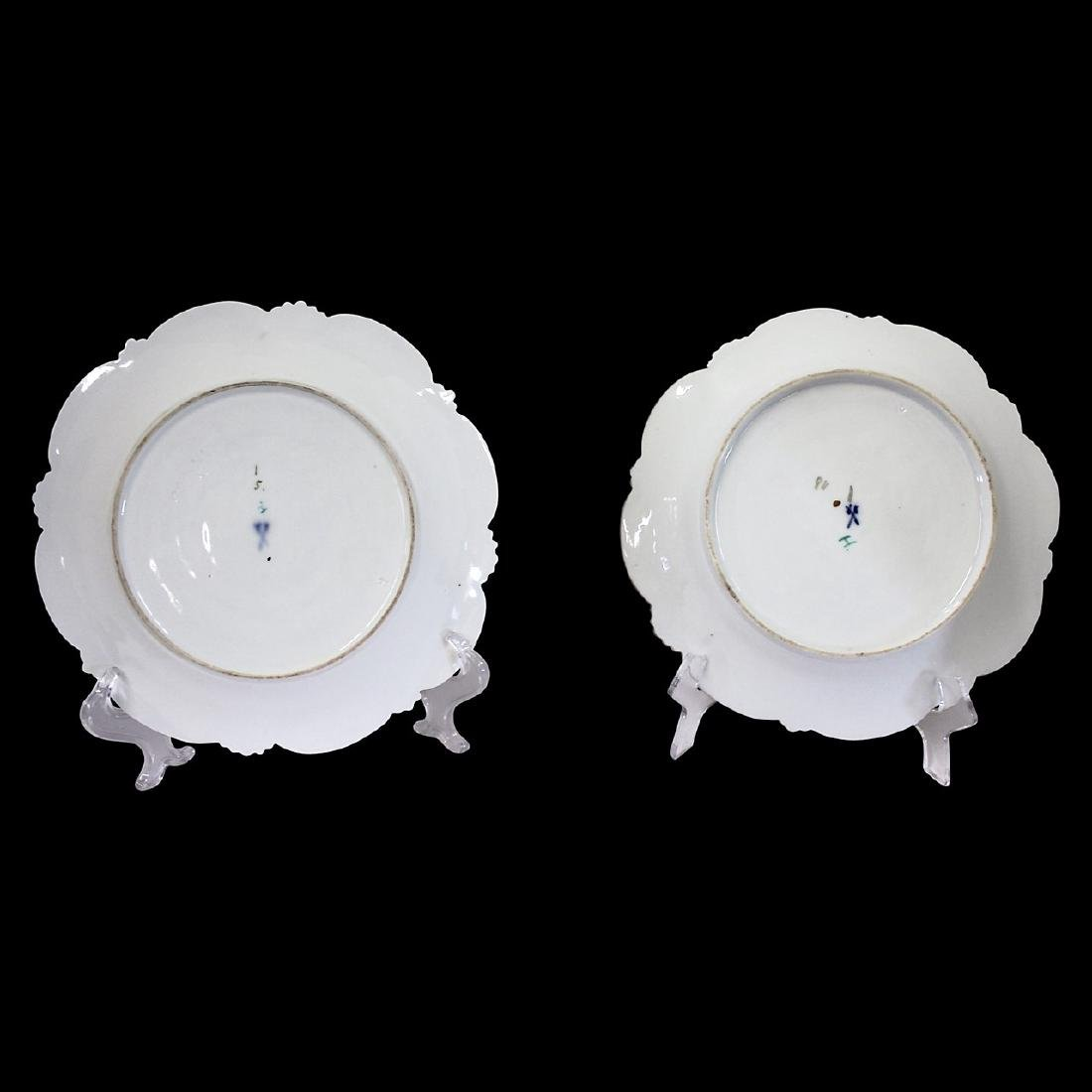 Pair of Meissen Baroque Style Plates - 4