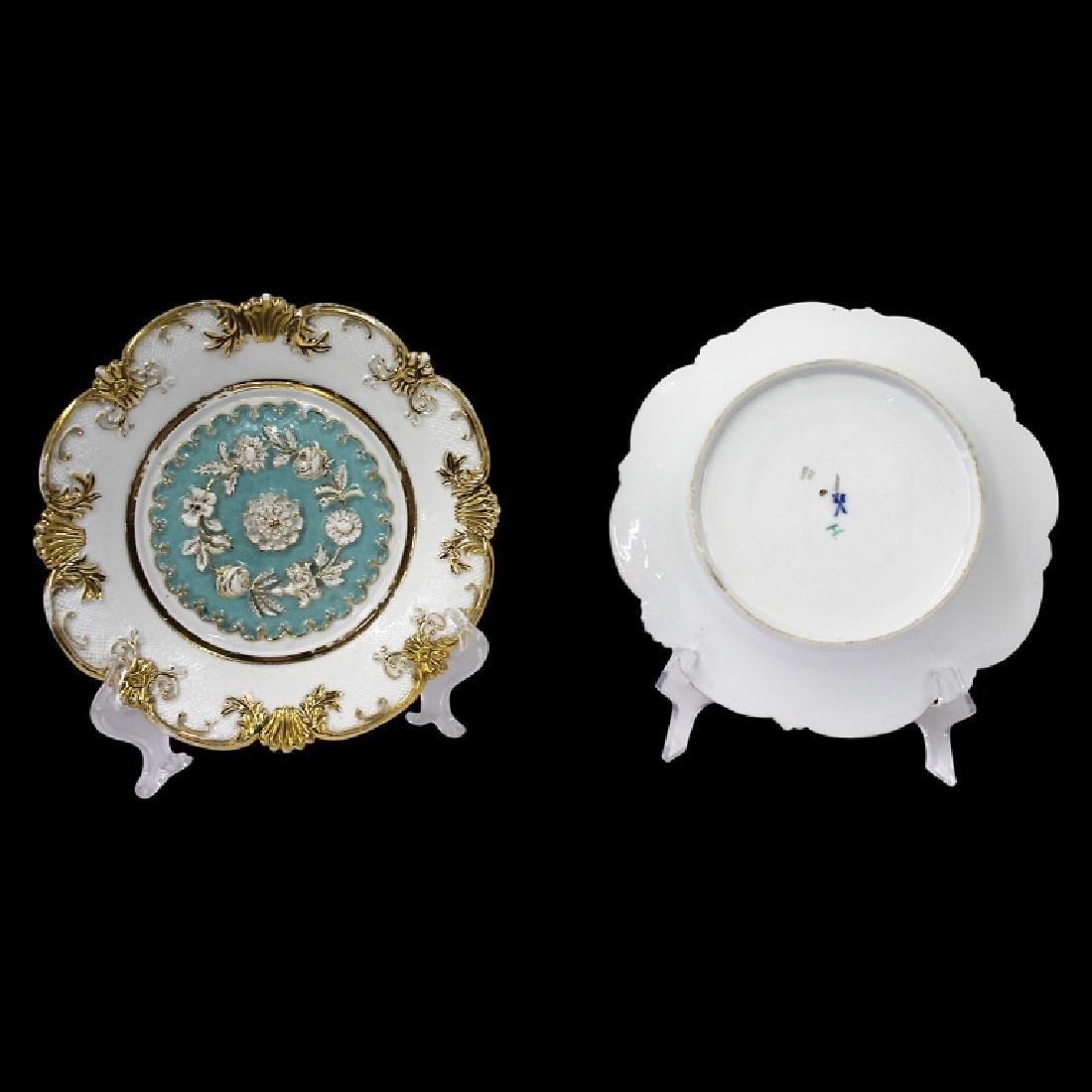 Pair of Meissen Baroque Style Plates - 6