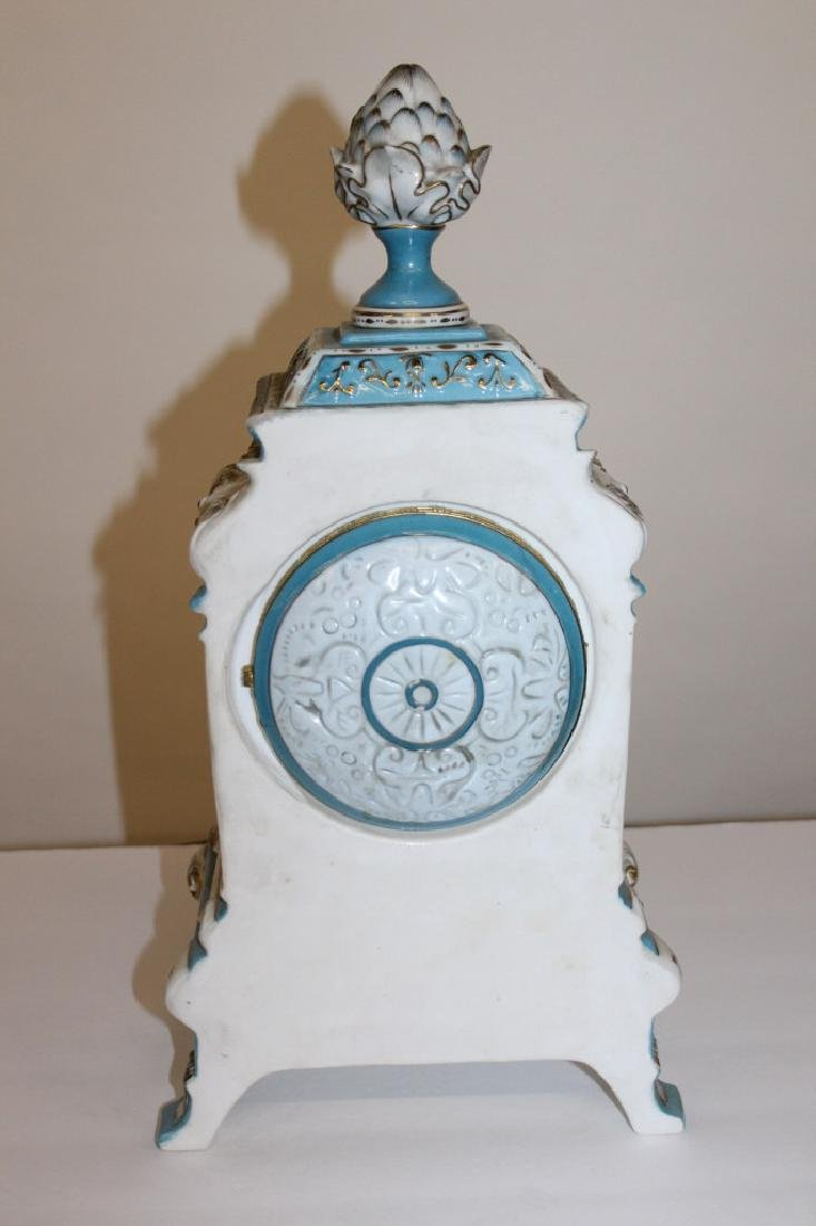 King Arm Collection Meissen Style Clock - 2