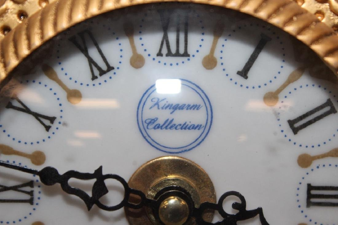 King Arm Collection Meissen Style Clock - 3