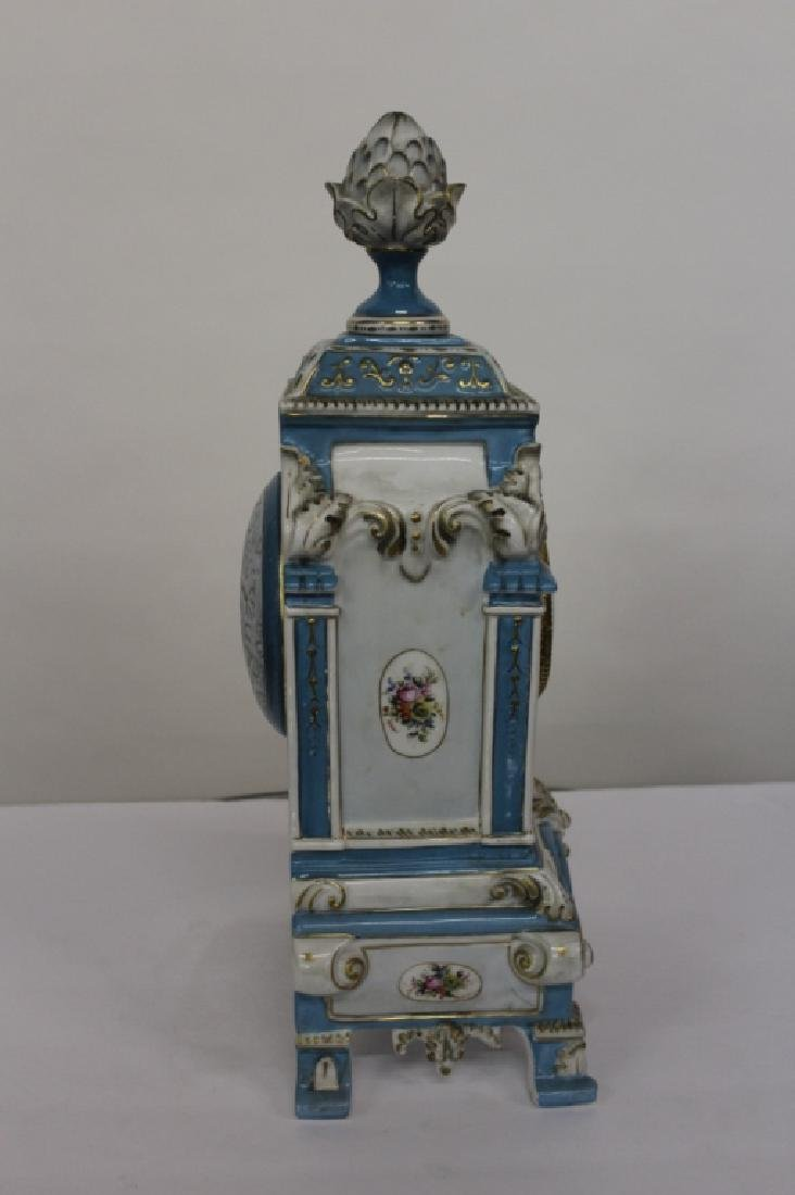 King Arm Collection Meissen Style Clock - 6