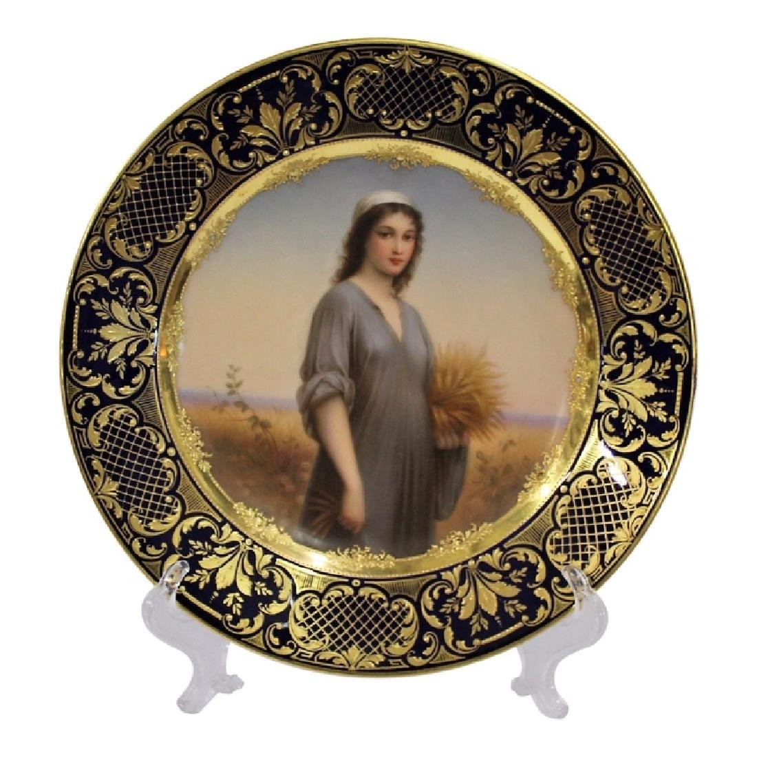 Dresden Routh Portrait Plate