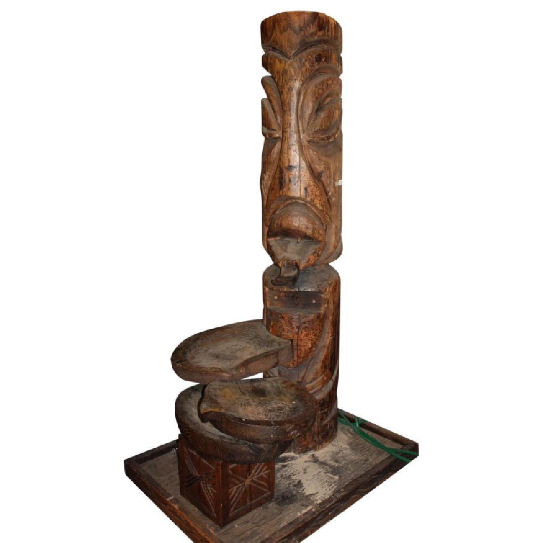 Tiki Totum Fountain