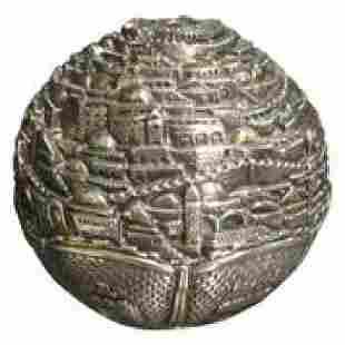 Judaic 925 Silver Sphere