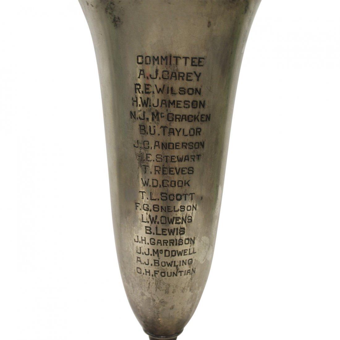 Sterling Silver Trophy Vase - 3