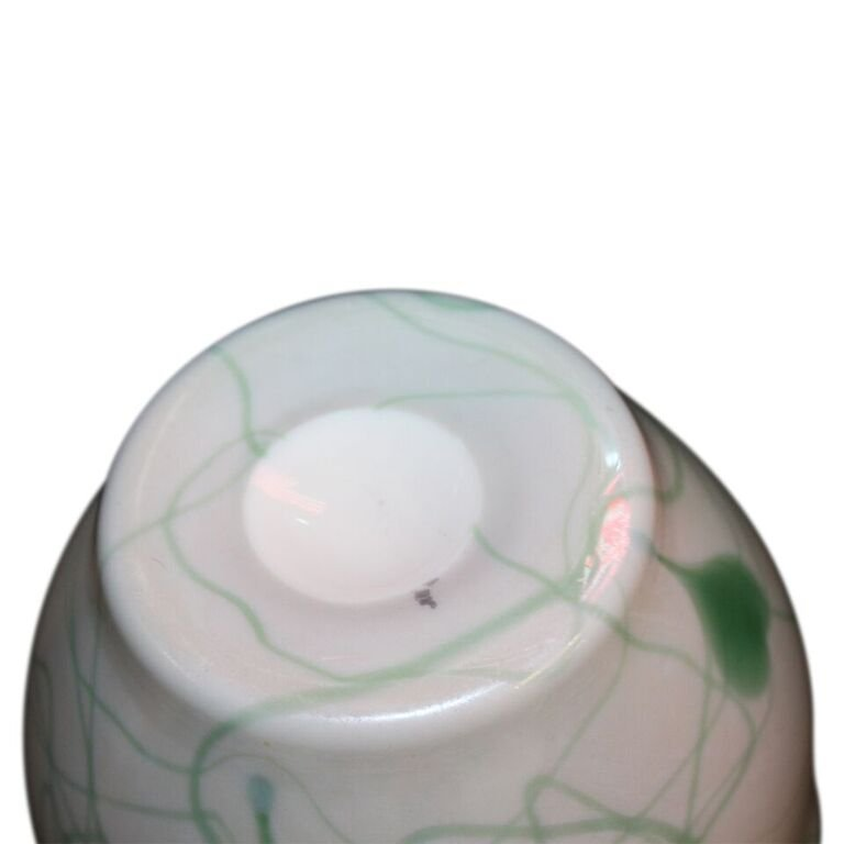 Antique Tiffany Style Glass Vase Imperial Free Hand - 3