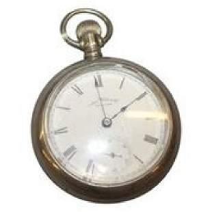 Waltham Sterling Silver Pocket Watch