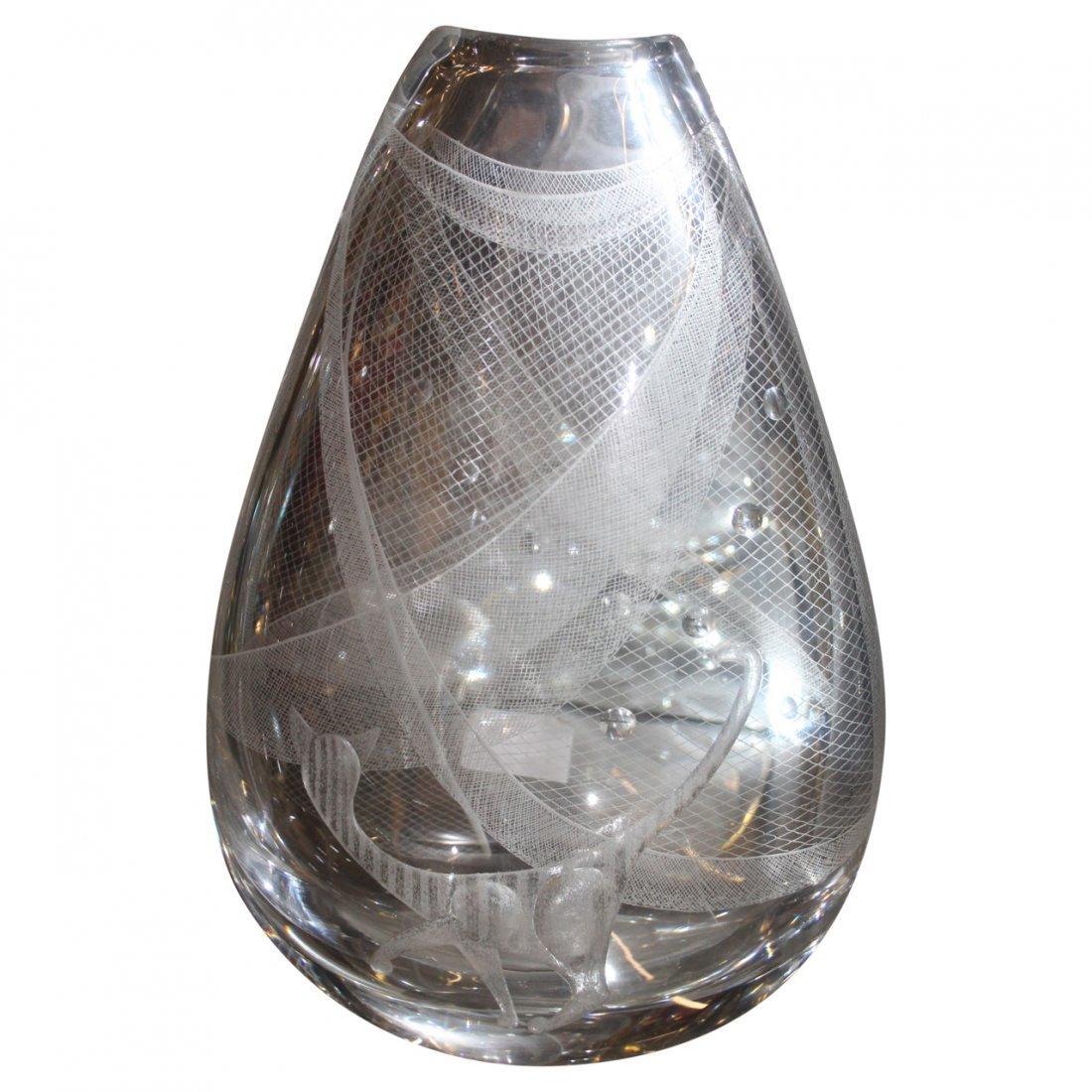 Large Vickie Lindstrand Vase