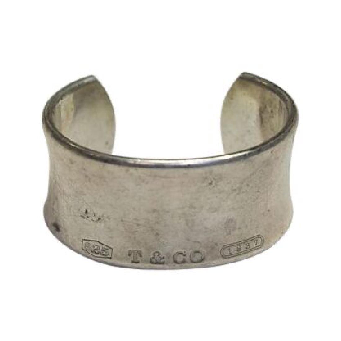 Tiffany Sterling Silver Cuff Bracelet