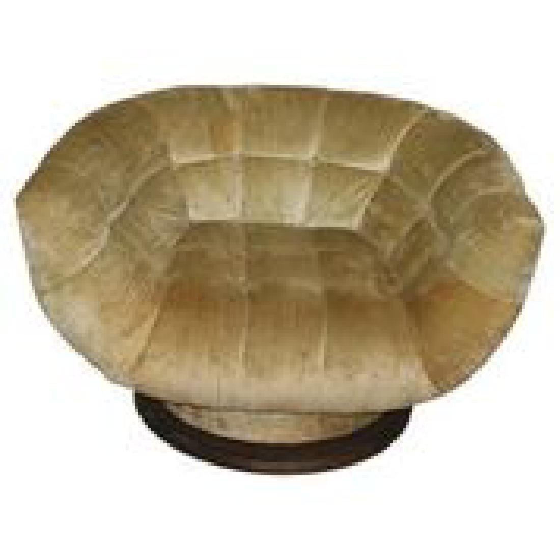 In The Manner of Vladimir Kagan Swivel Chair