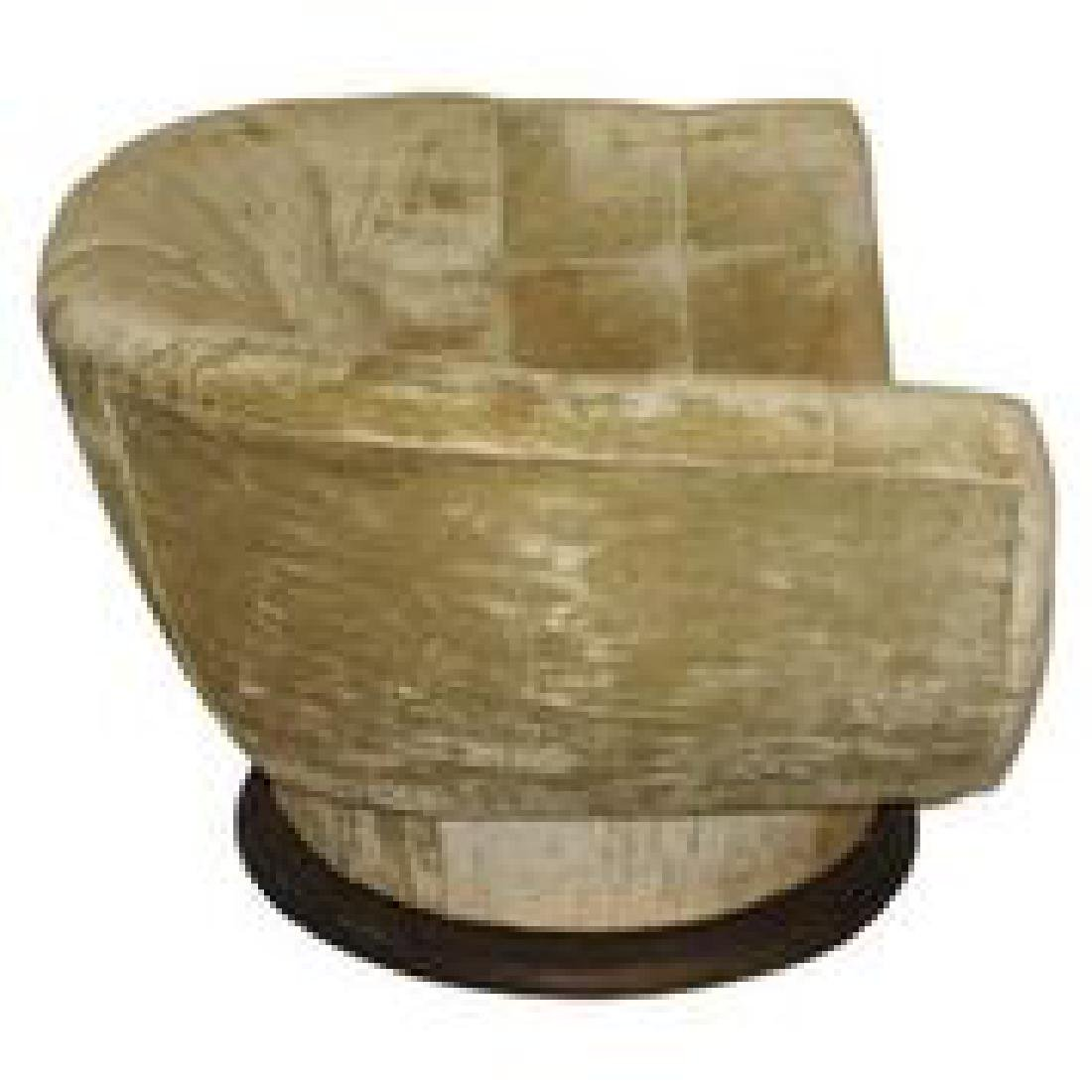 In The Manner of Vladimir Kagan Swivel Chair - 2
